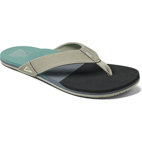 Reef Tri Newport Sandals Men, black/green